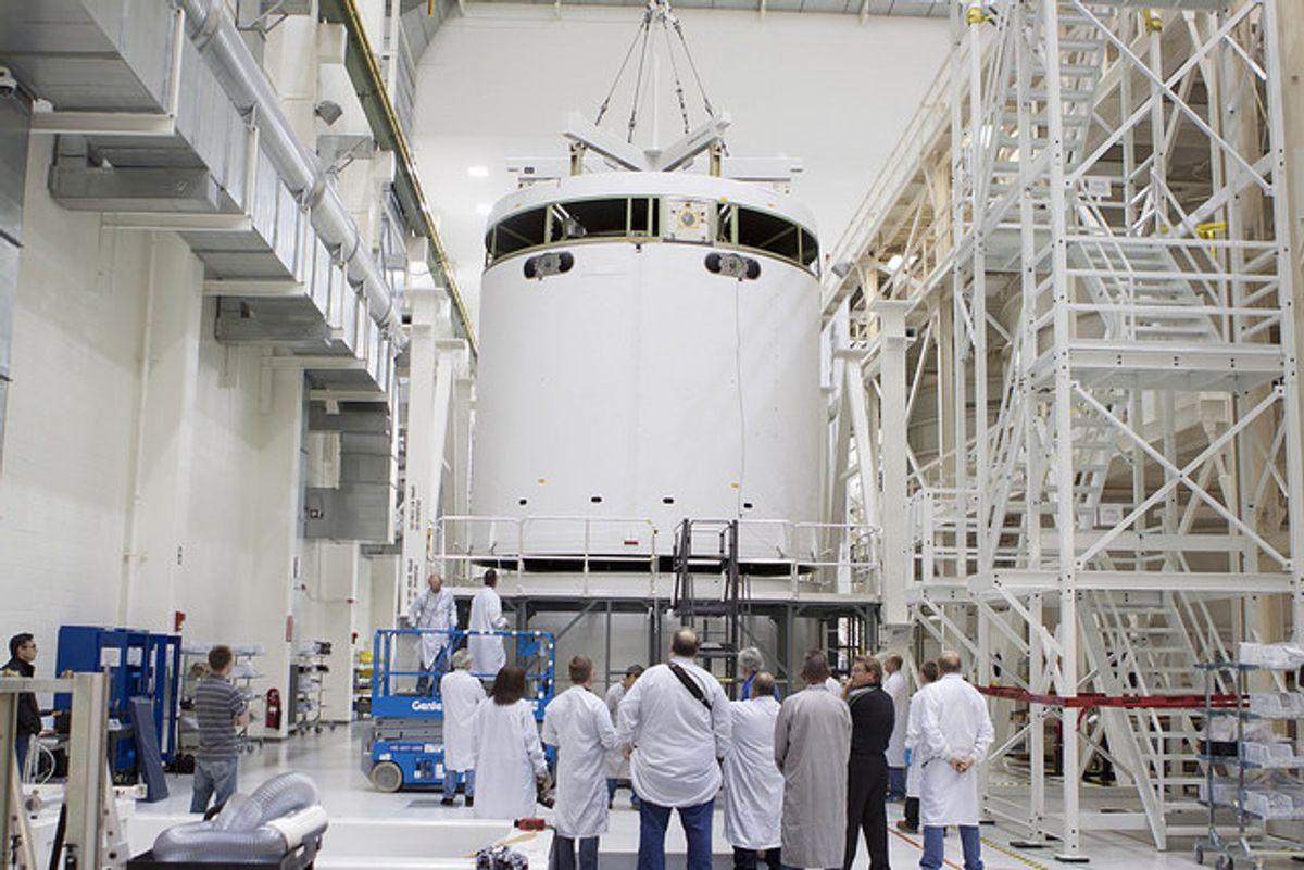 Orion  (NASA Kennedy via Flickr)
