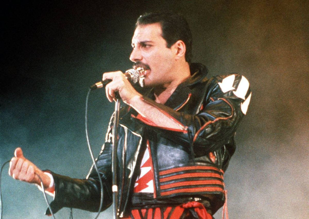Freddie Mercury   (Associated Press)
