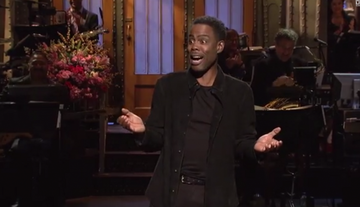 "Chris Rock's ""SNL"" monologue            (NBC/""Saturday Night Live"")"