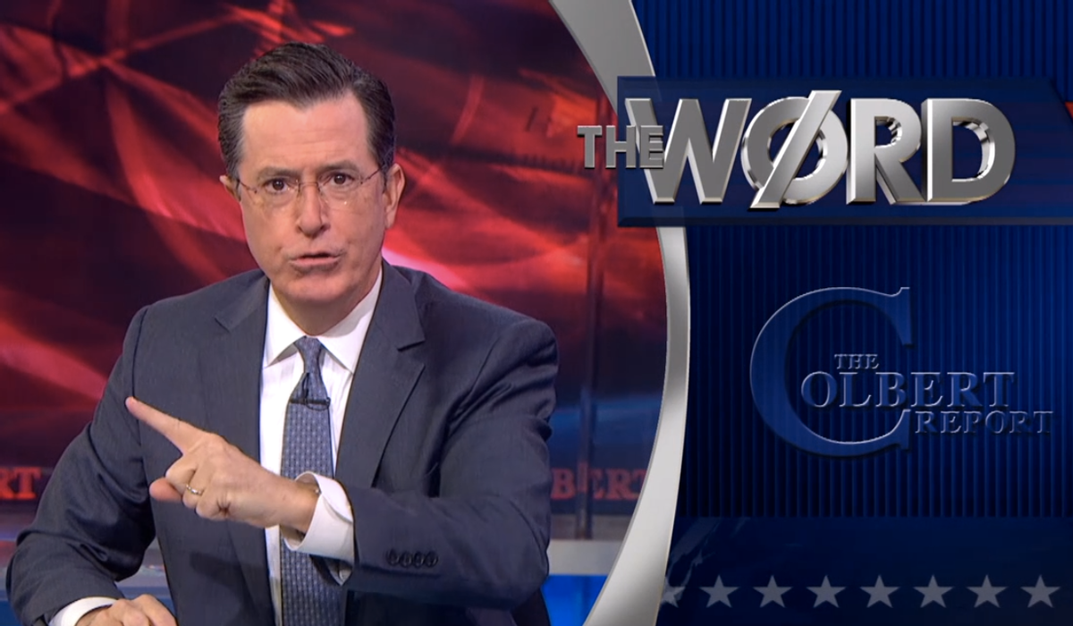 """Stephen Colbert """"The Word""""   (Comedy Central)"""