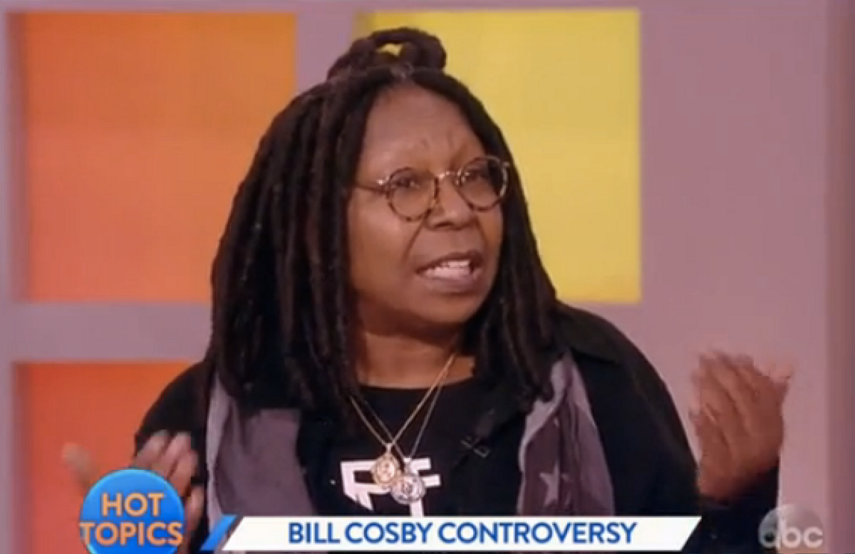 """Whoopi Goldberg on """"The View""""         (ABC/""""The View"""")"""