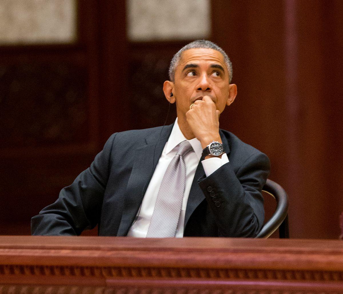 US President Barack Obama (AP Photo/Pablo Martinez Monsivais, Pool)   (Pablo Martinez Monsivais)