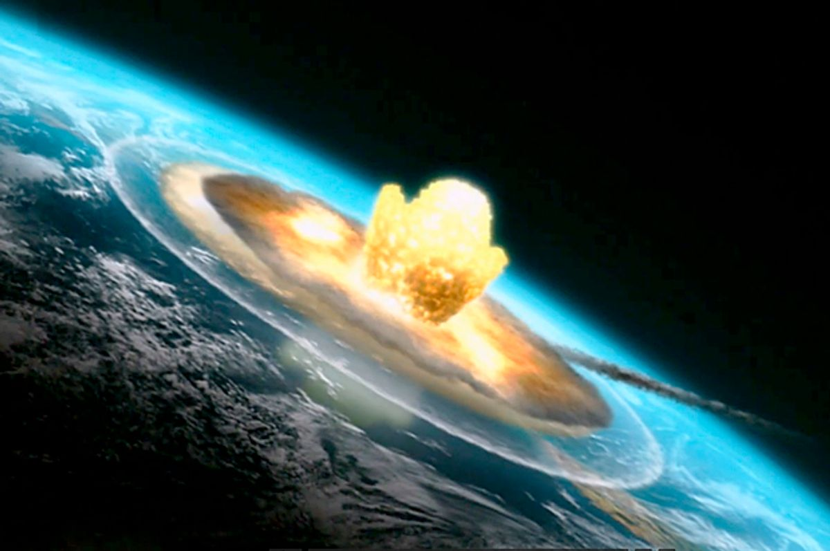 """Still from """"Mass Extinction: Life at the Brink""""    (Smithsonian Channel)"""