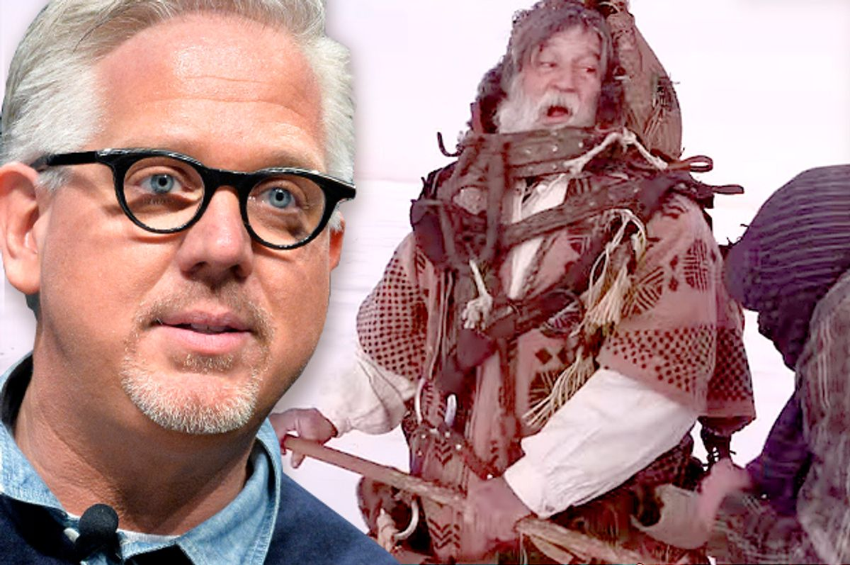 """Glenn Beck; """"The Immortal""""    (AP/Timothy D. Easley/American Dream Labs/Photo montage by Salon)"""