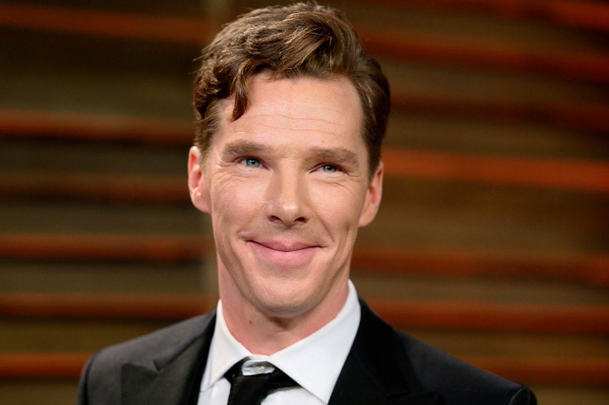 Benedict Cumberbatch       (Reuters/Danny Moloshok)