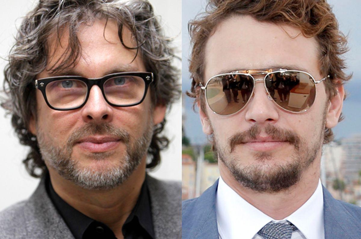 Michael Chabon, James Franco    (AP/Seth Wenig/Todd Williamson)
