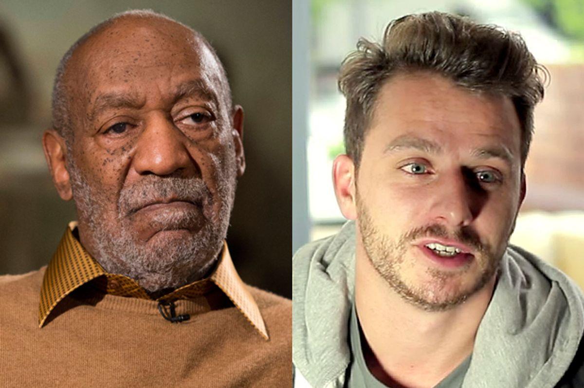 Bill Cosby, Dapper Laughs        (AP/Evan Vucci/YouTube/FRP MotionPictures)