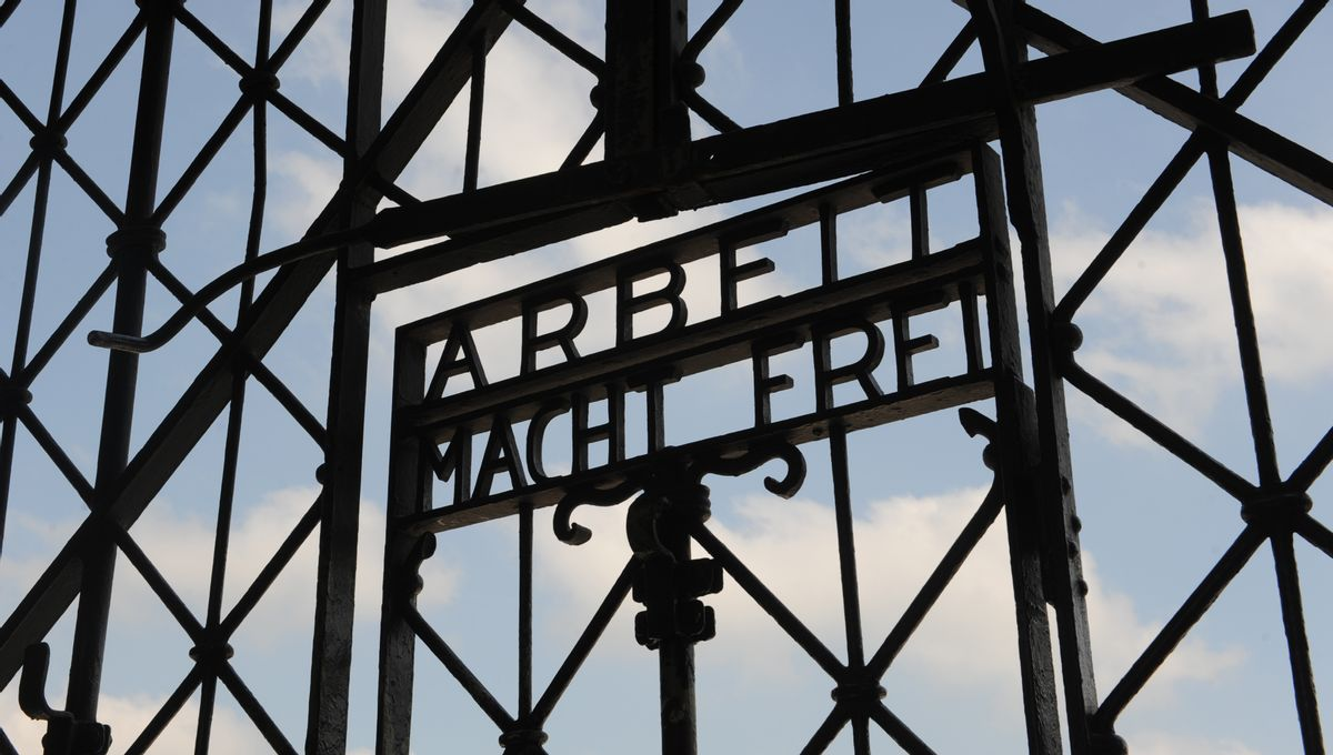 The former Nazi concentration camp in Dachau near Munich, southern Germany.  (AP/Christof Stache)