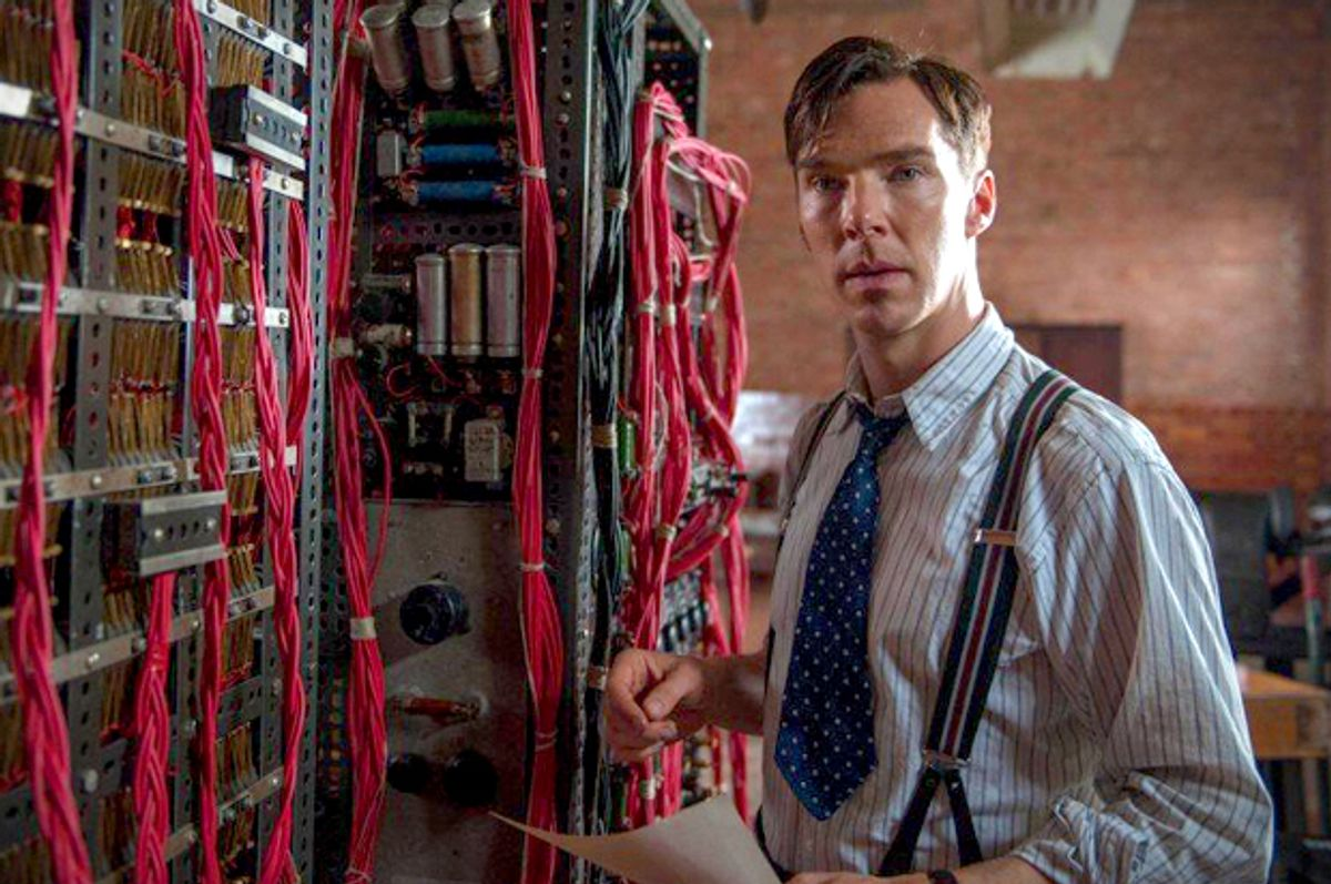"""Benedict Cumberbatch in """"The Imitation Game""""      (Black Bear Pictures)"""