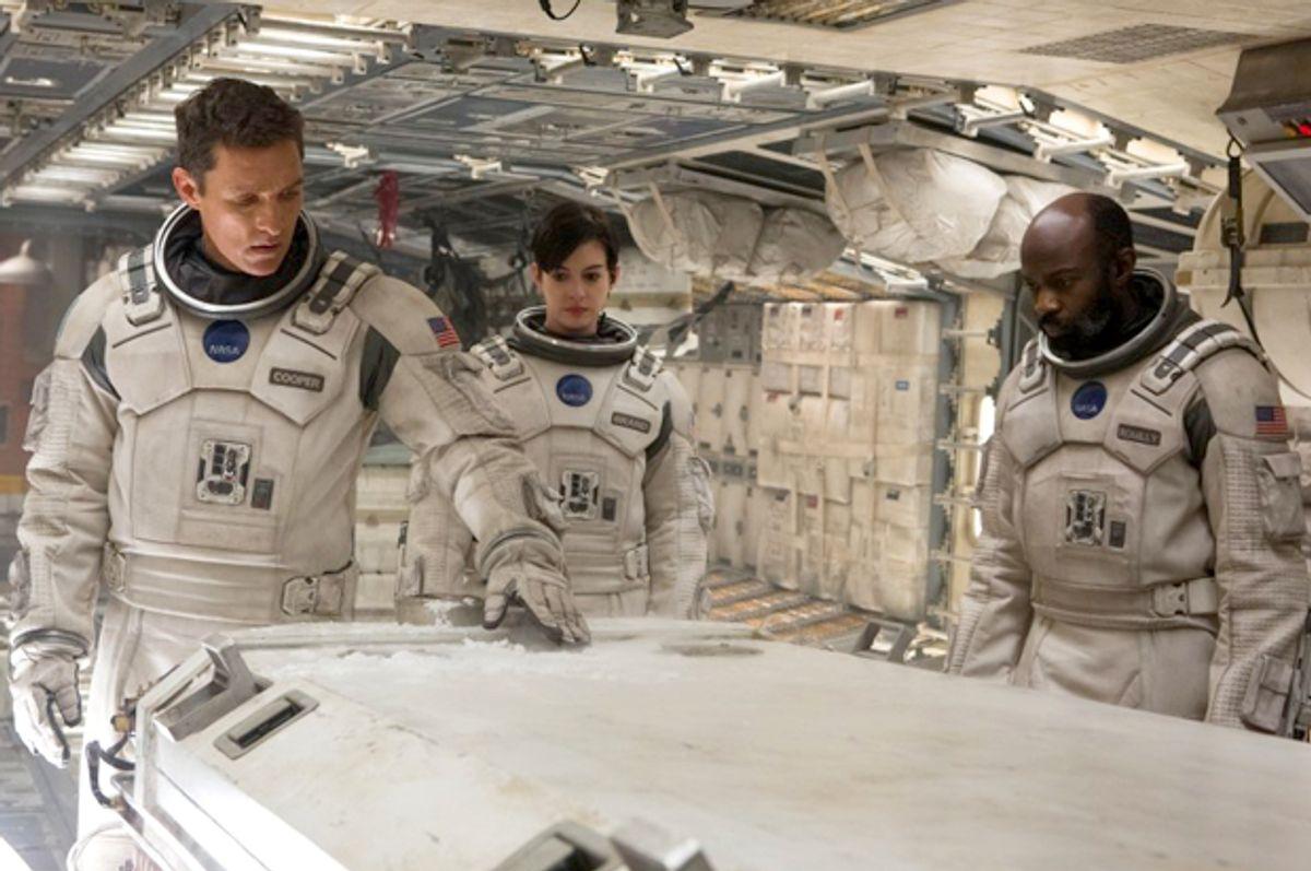 "Matthew McConaughey, Anne Hathaway and David Gyasi in ""Interstellar""   (Paramount Pictures)"