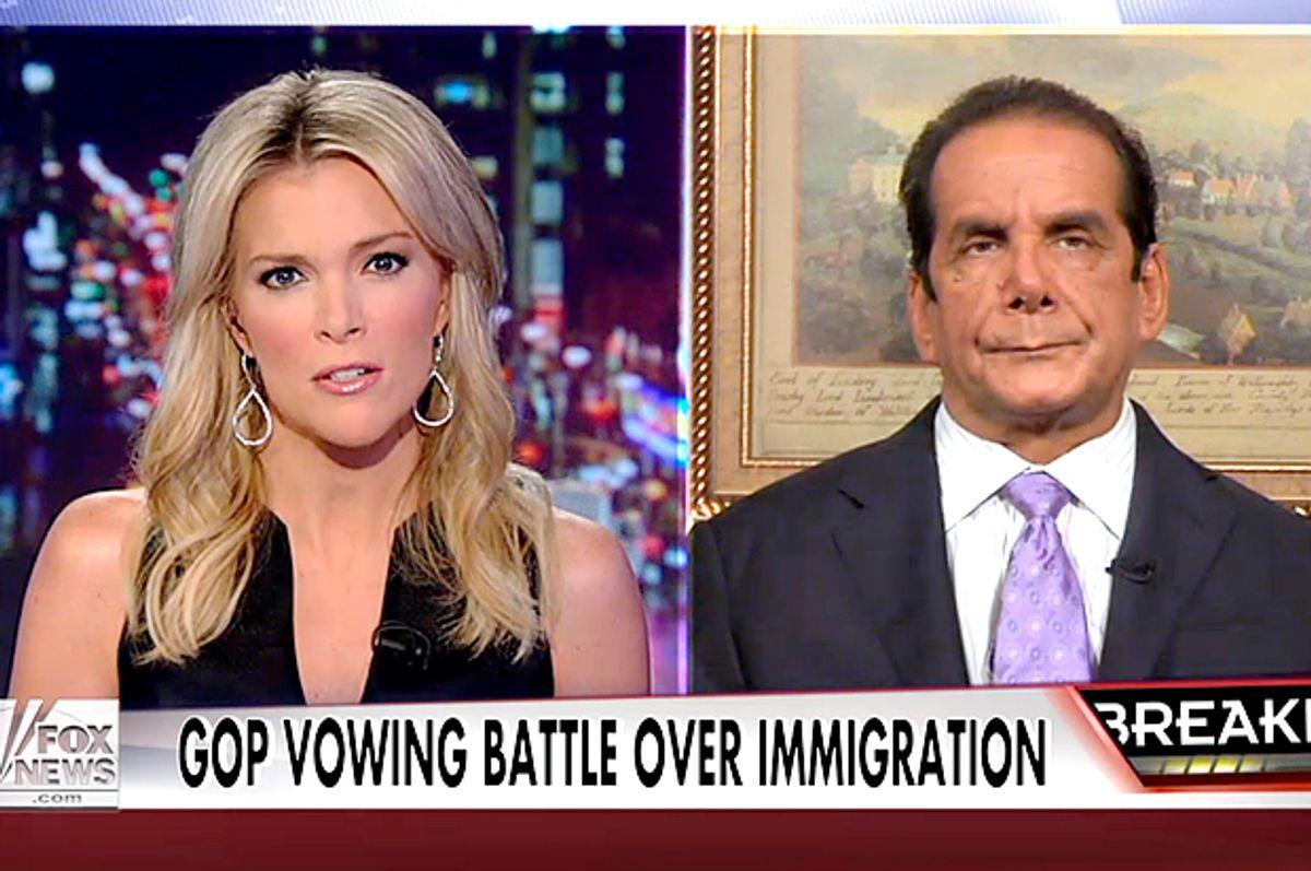 Megyn Kelly, Charles Krauthammer         (Fox News)