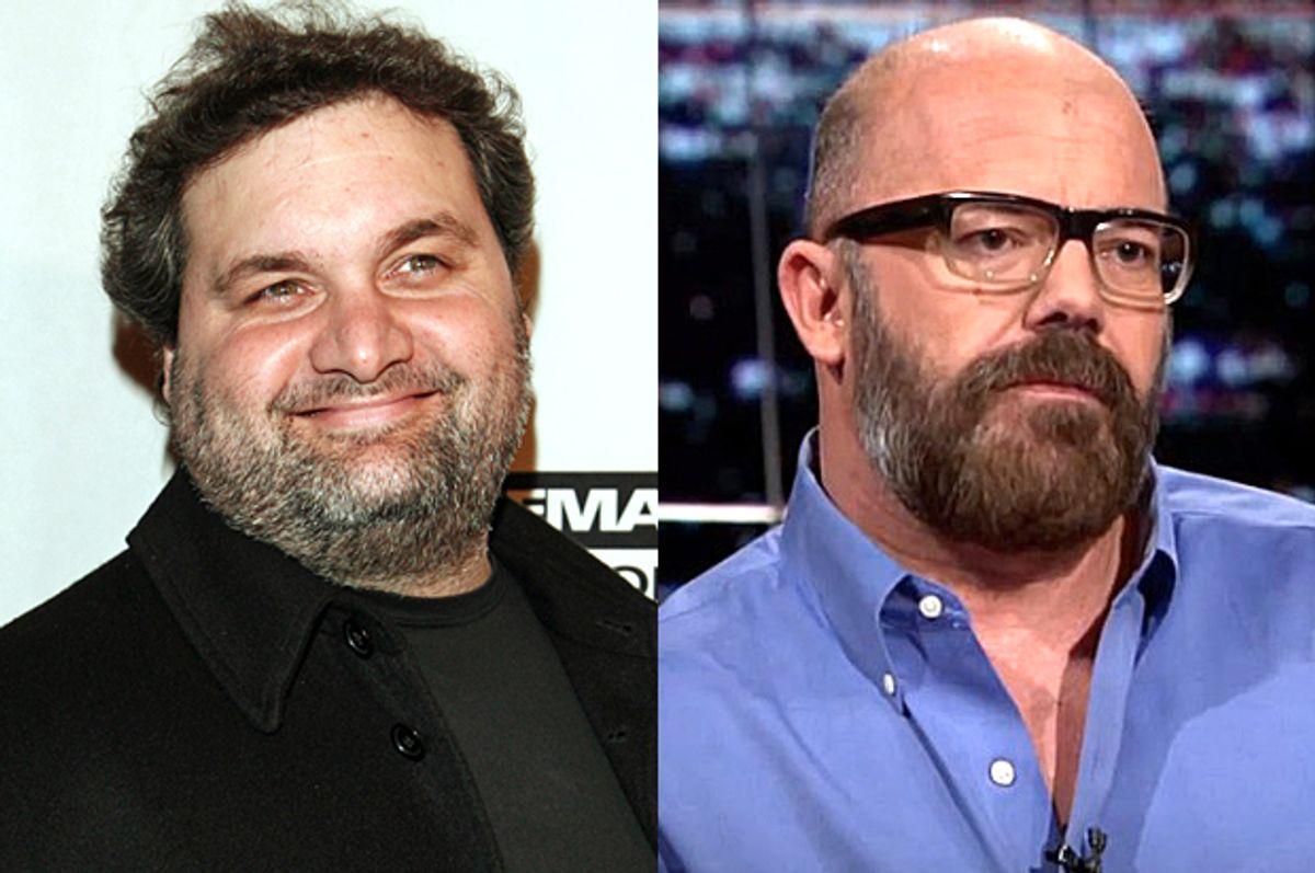 Artie Lange, Andrew Sullivan     (AP/Stuart Ramson/HBO)