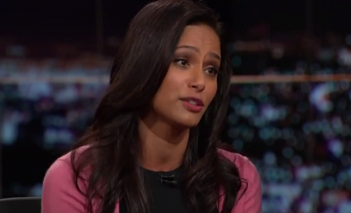 Rula Jebreal               (Real Time with Bill Maher)
