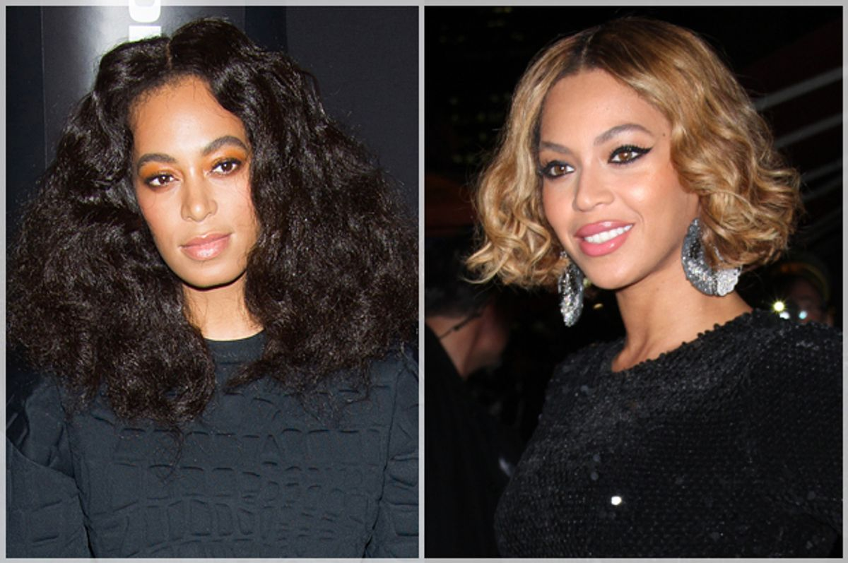 Solange and Beyonce Knowles             (AP/Charles Sykes/MediaPunch)