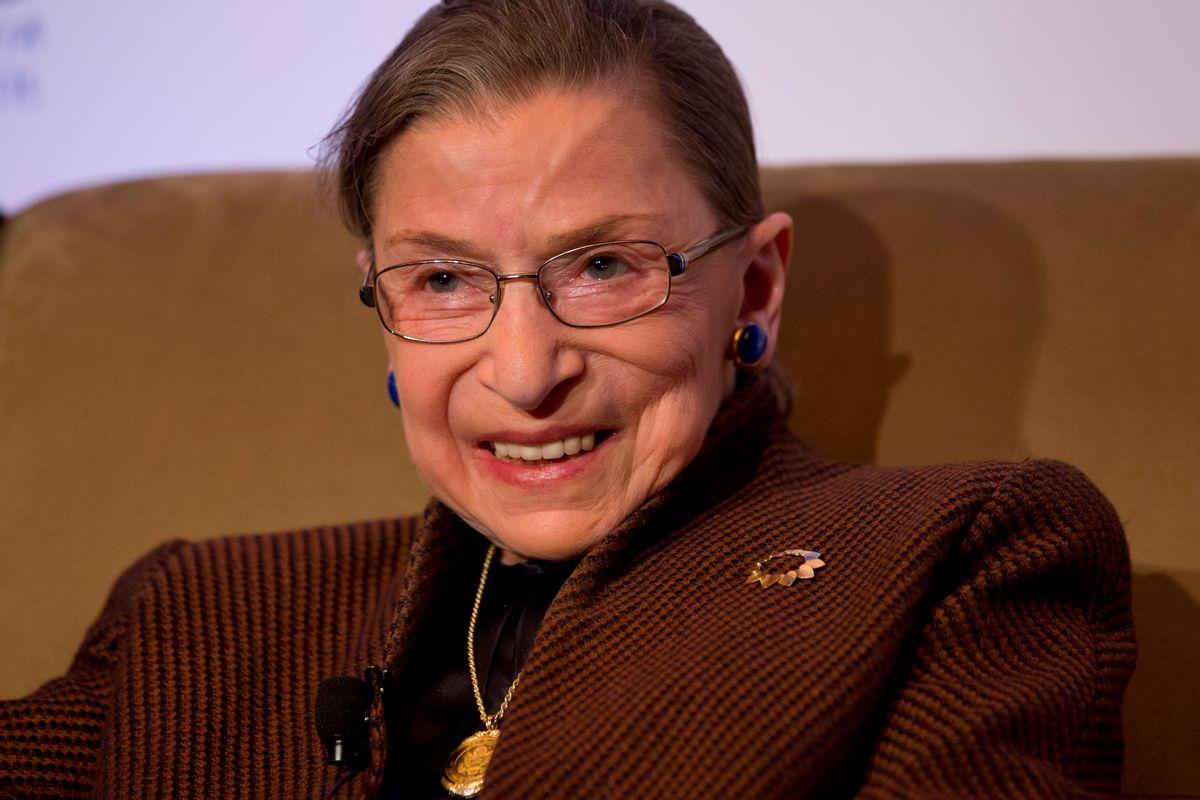 Ruth Bader Ginsburg  (AP)