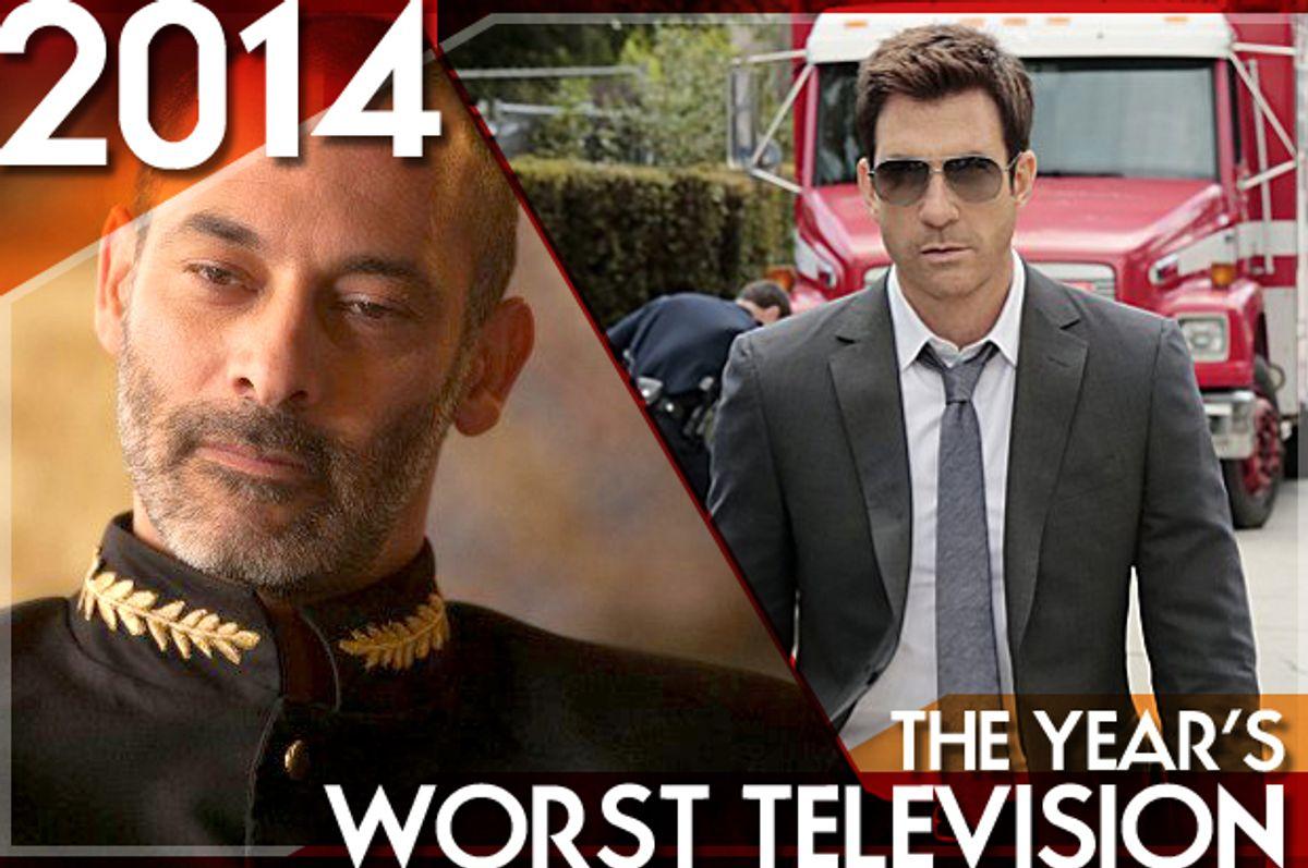 "Ashraf Barhom in ""Tyrant,"" Dylan McDermott in ""Stalker""     (FX/CBS/Salon)"