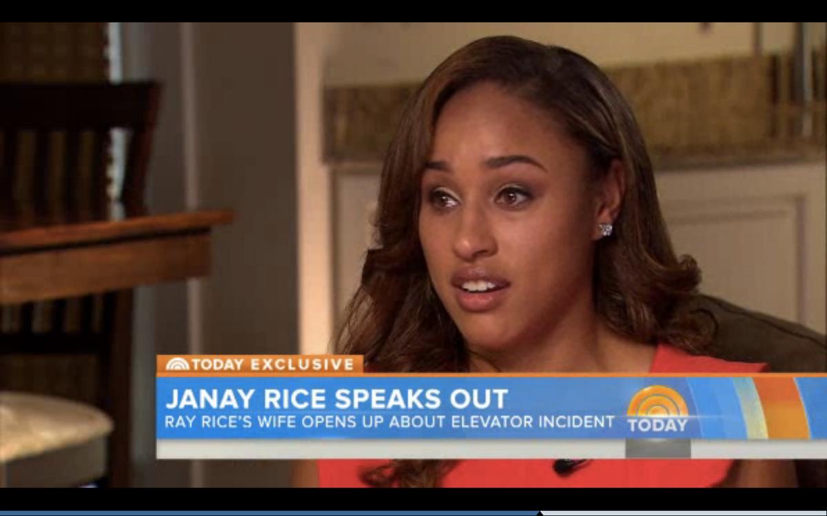 """Janay Rice       (NBC/""""Today"""")"""