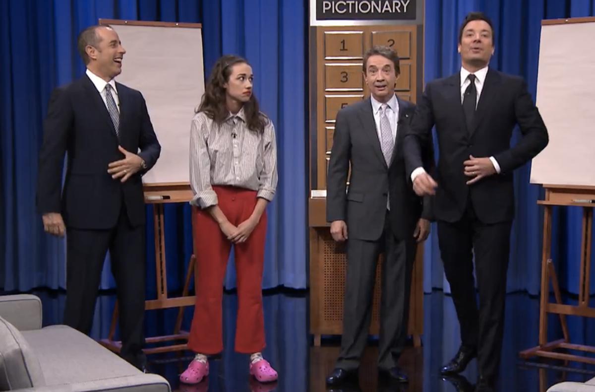 Jerry Seinfeld, Miranda Sings, Martin Short, Jimmy Fallon     (NBC)