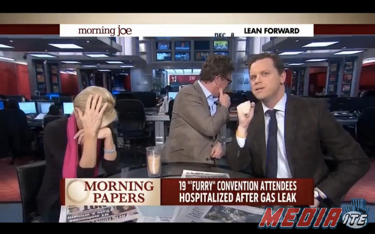 """Mika Brzezisnki, Joe Scarborough and Willie Geist        (MSNBC/""""Morning Joe"""")"""