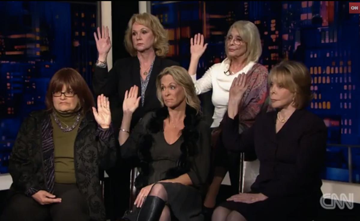 Joan Tarshis, Barbara Bowman, Kristina Ruehli, Patty Masten and Victoria Valentino           (CNN)
