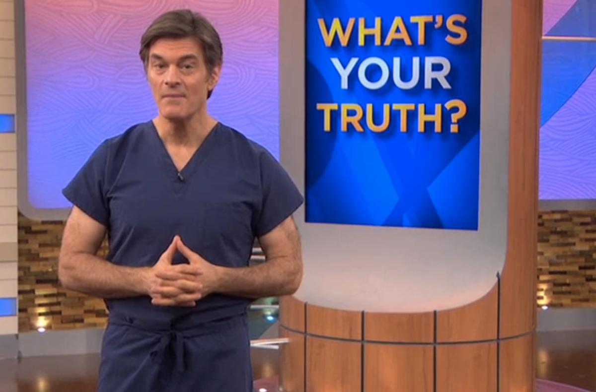 (Screenshot, The Dr. Oz Show)