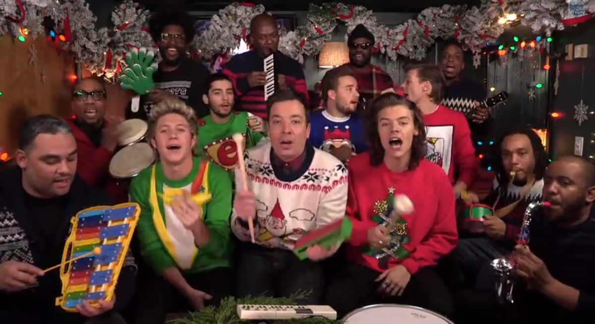 Jimmy Fallon, The Roots, One Direction      (NBC)