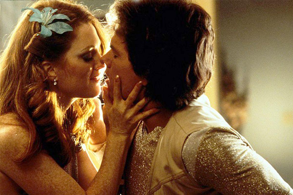 "Julianne Moore and Mark Wahlberg in ""Boogie Nights""      (New Line Cinema)"