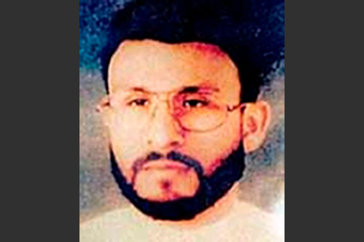 This photo provided by U.S. Central Command, shows Abu Zubaydah, date and location unknown. When the CIA sought permission to use harsh interrogations methods on a captured al-Qaida operative, the response from Bush administration lawyers was encouraging, even clinical. In one of several memos that would form the legal underpinnings for brutal interrogation techniques, the CIA was told that Abu Zubbaydah could lawfully be place din a box with an insect, kept awake for days at a time and repeatedly slapped in the face.  (AP Photo/U.S. Central Command) (AP)