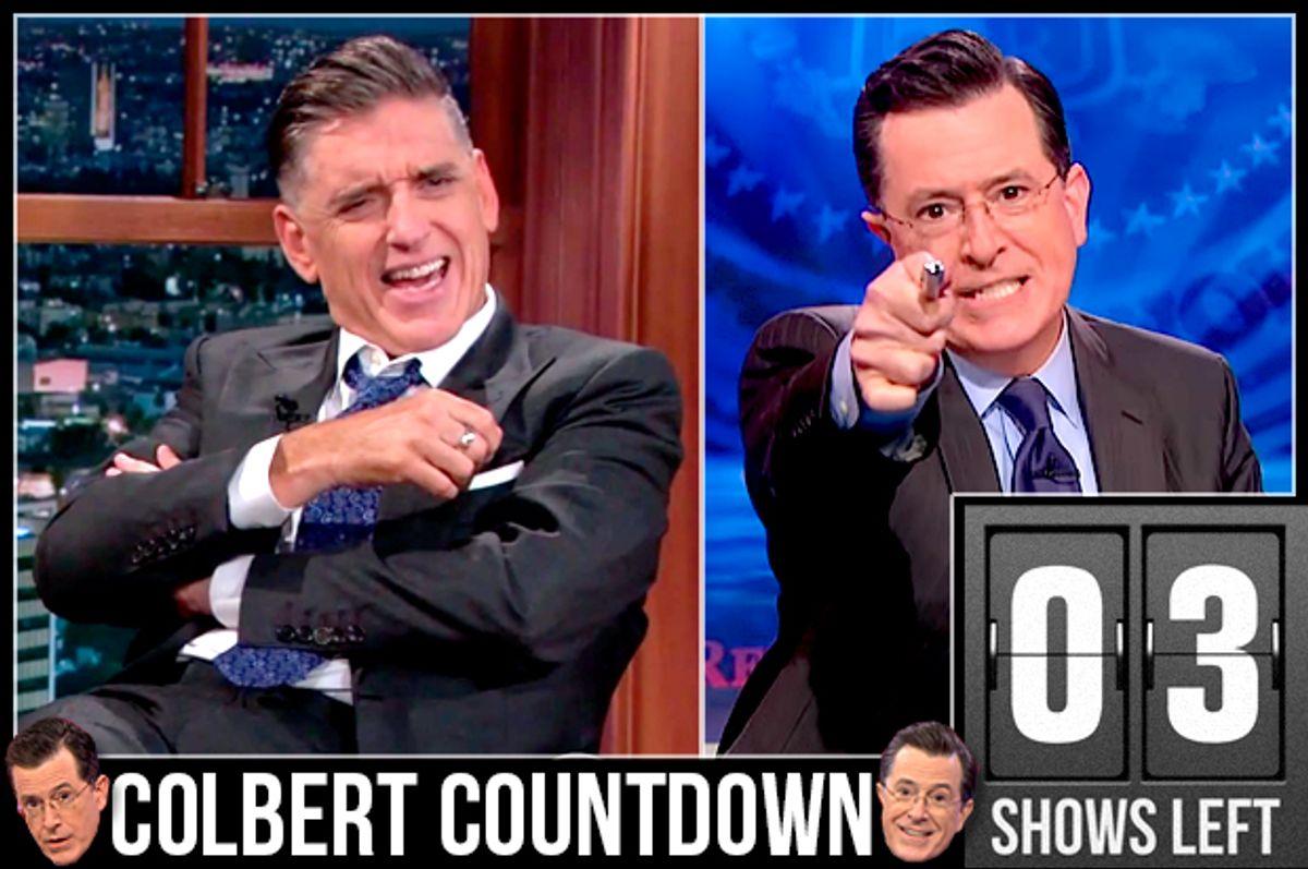 Craig Ferguson, Stephen Colbert          (CBS/Comedy Central)