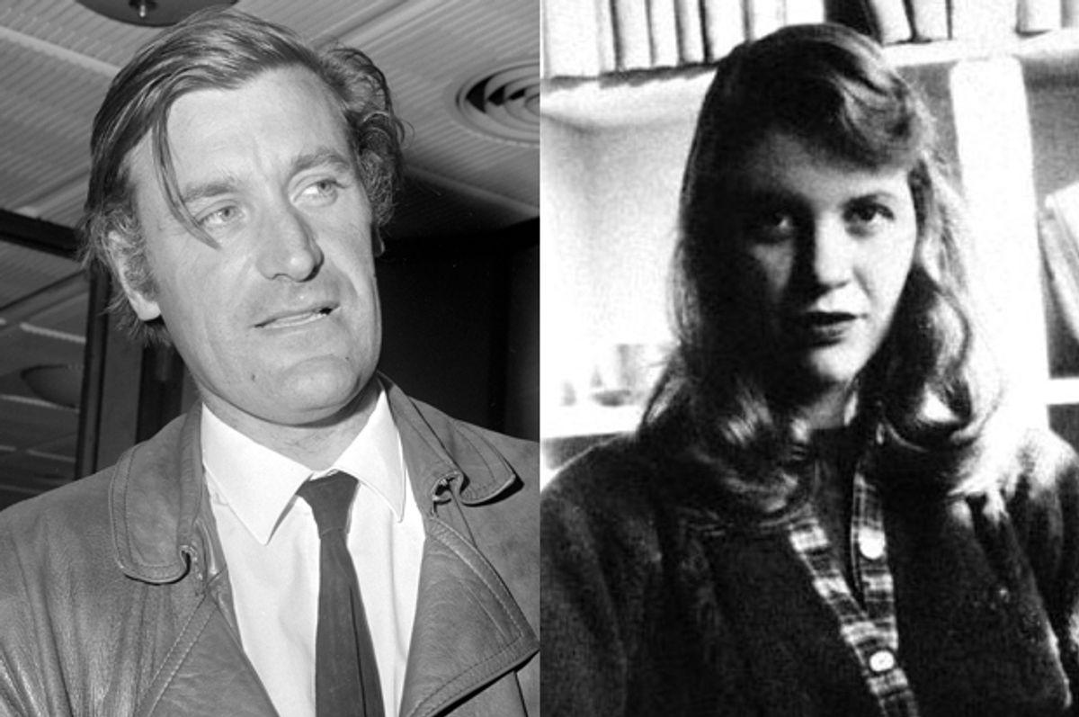 Ted Hughes, Sylvia Plath     (AP)
