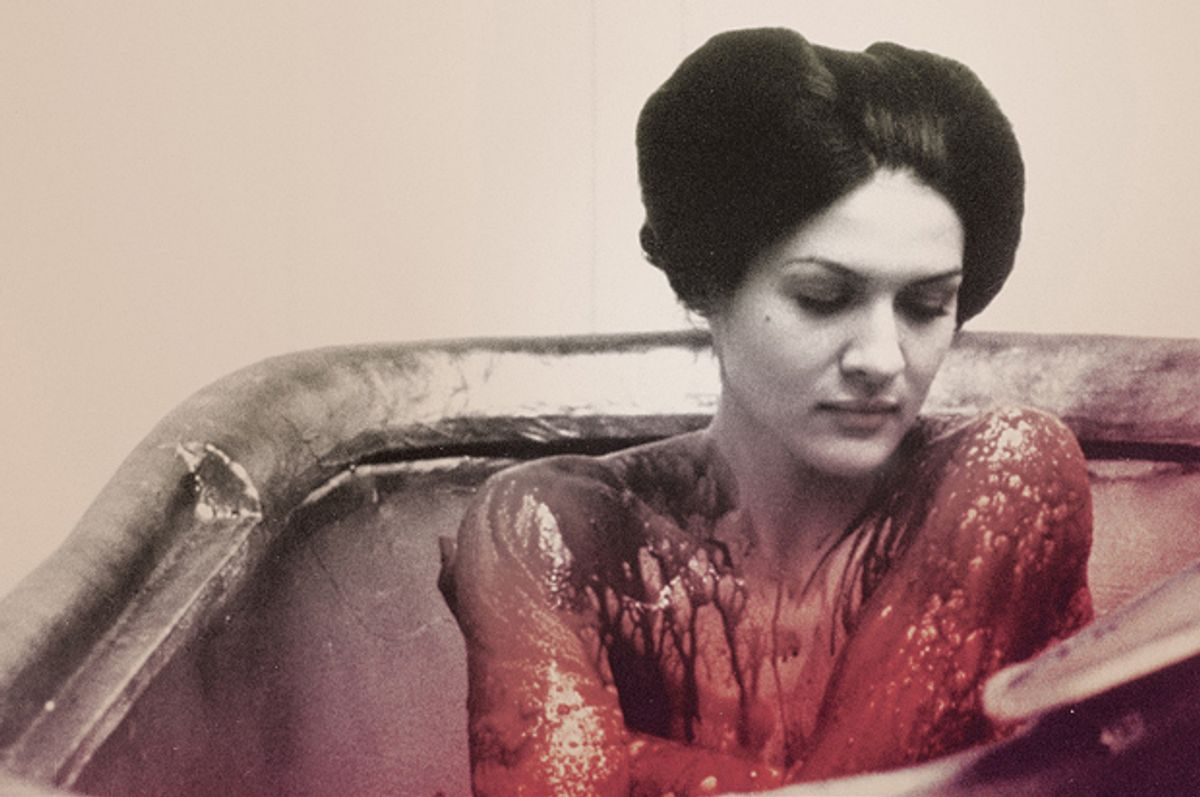 """Paloma Picasso in Walerian Borowczyk's """"Immoral Tales."""""""