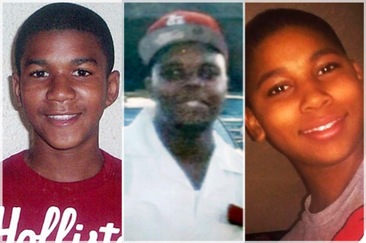Trayvon Martin, Michael Brown, Tamir Rice