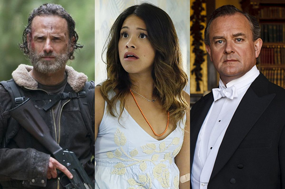 """""""The Walking Dead,"""" """"Jane the Virgin,"""" """"Downton Abbey"""""""