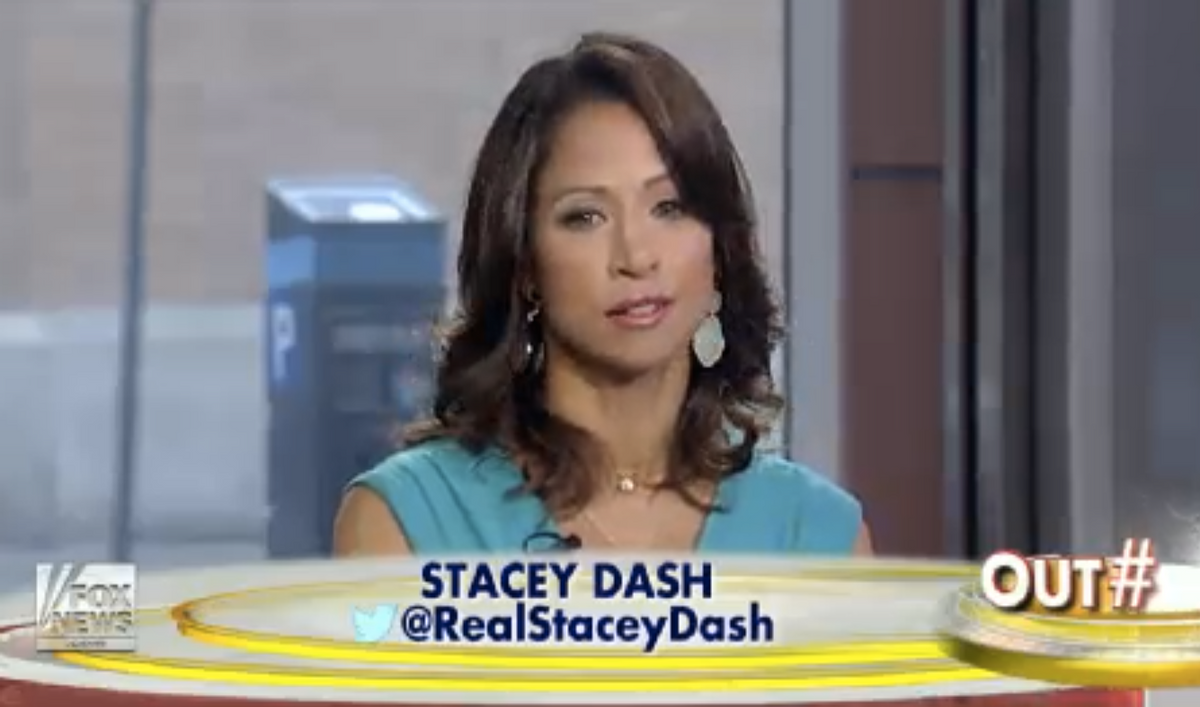 """Stacey Dash (Fox News/""""Outnumbered"""")"""