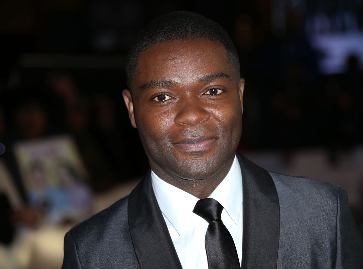 Actor David Oyelowo poses for photographers at a central London cinema (Photo by Joel Ryan/Invision/AP)