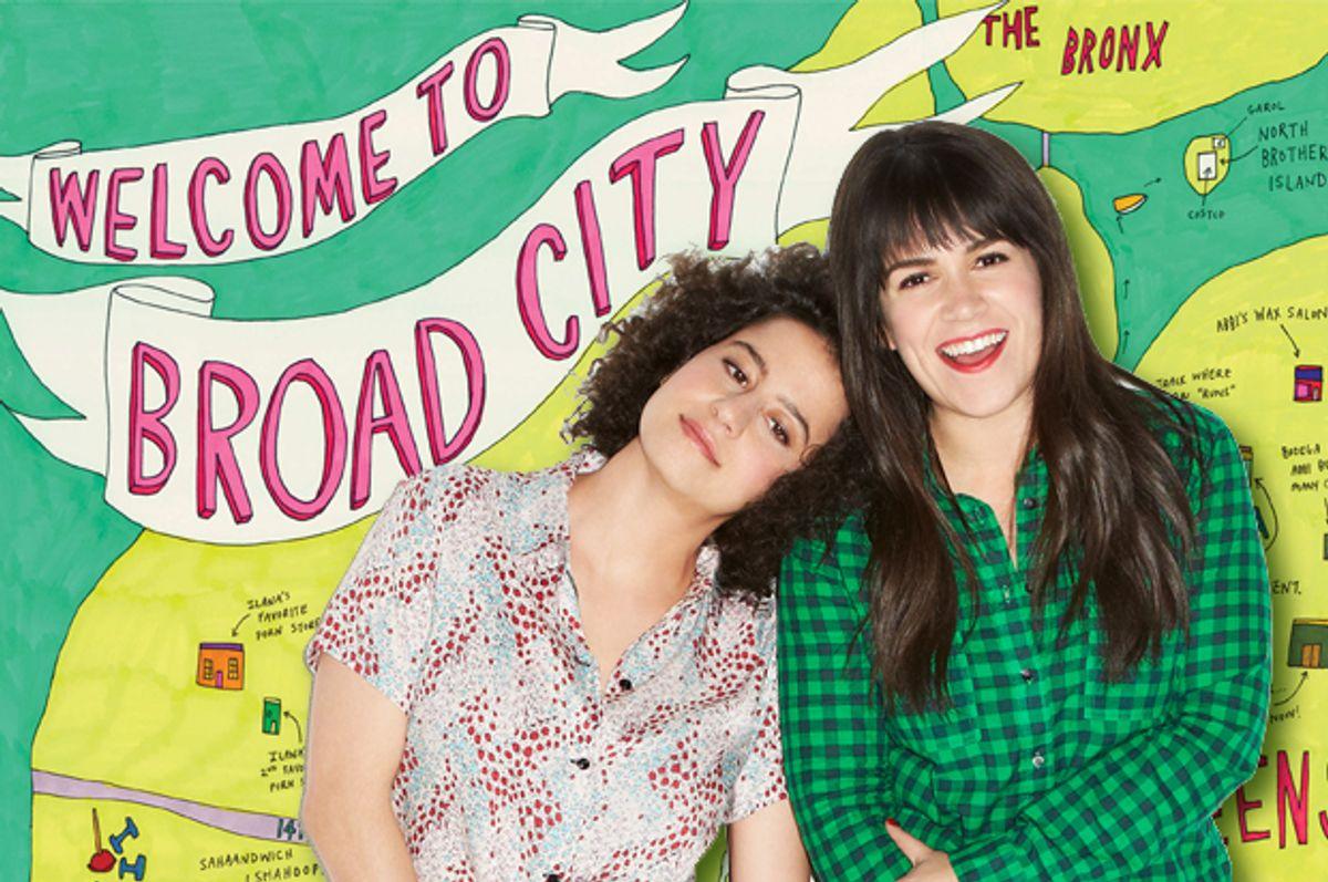 "Ilana Glazer and Abbi Jacobson of ""Broad City""      (Comedy Central/Lane Savage)"