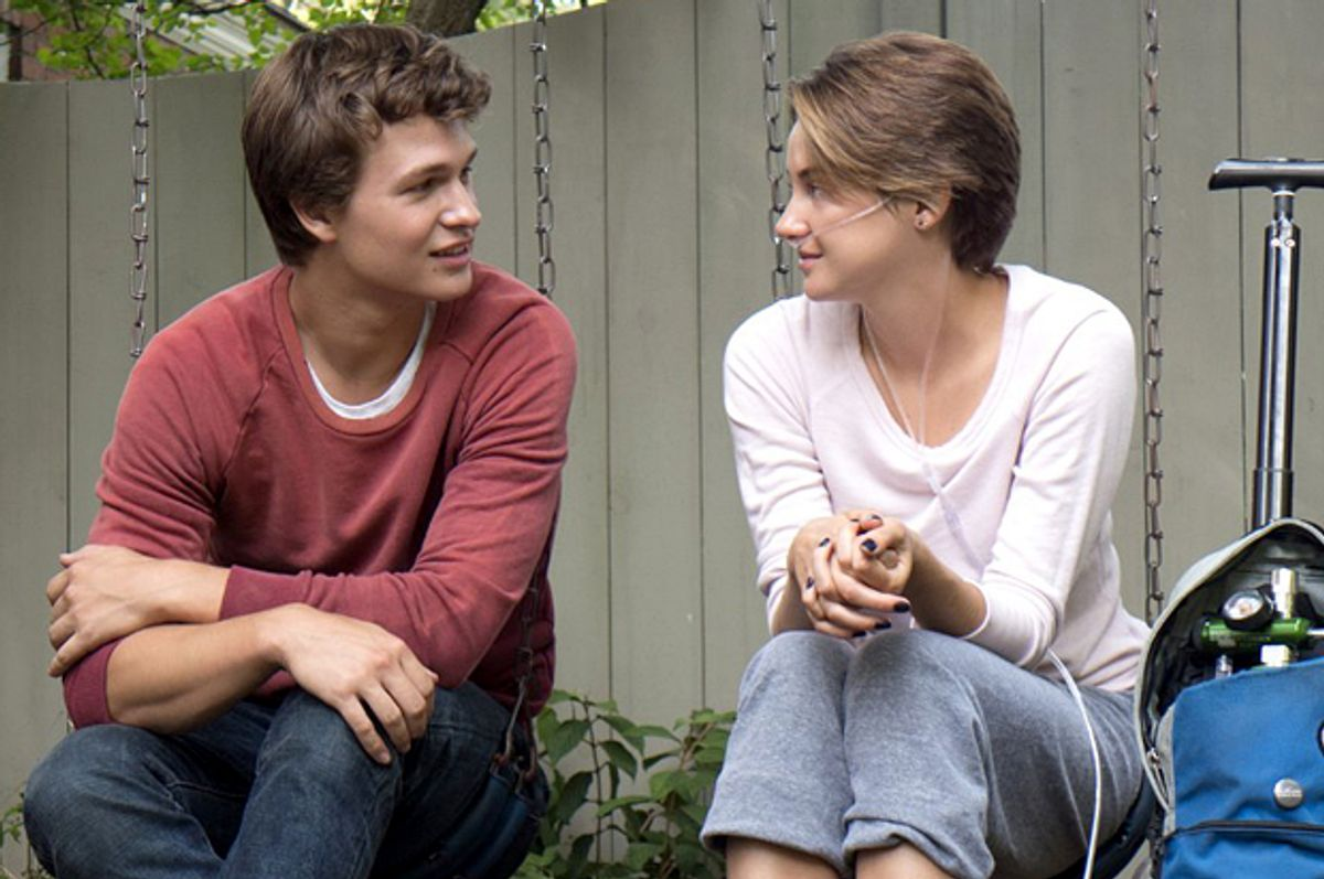 """Ansel Elgort and Shailene Woodley in """"The Fault in Our Stars""""     (Twentieth Century Fox)"""