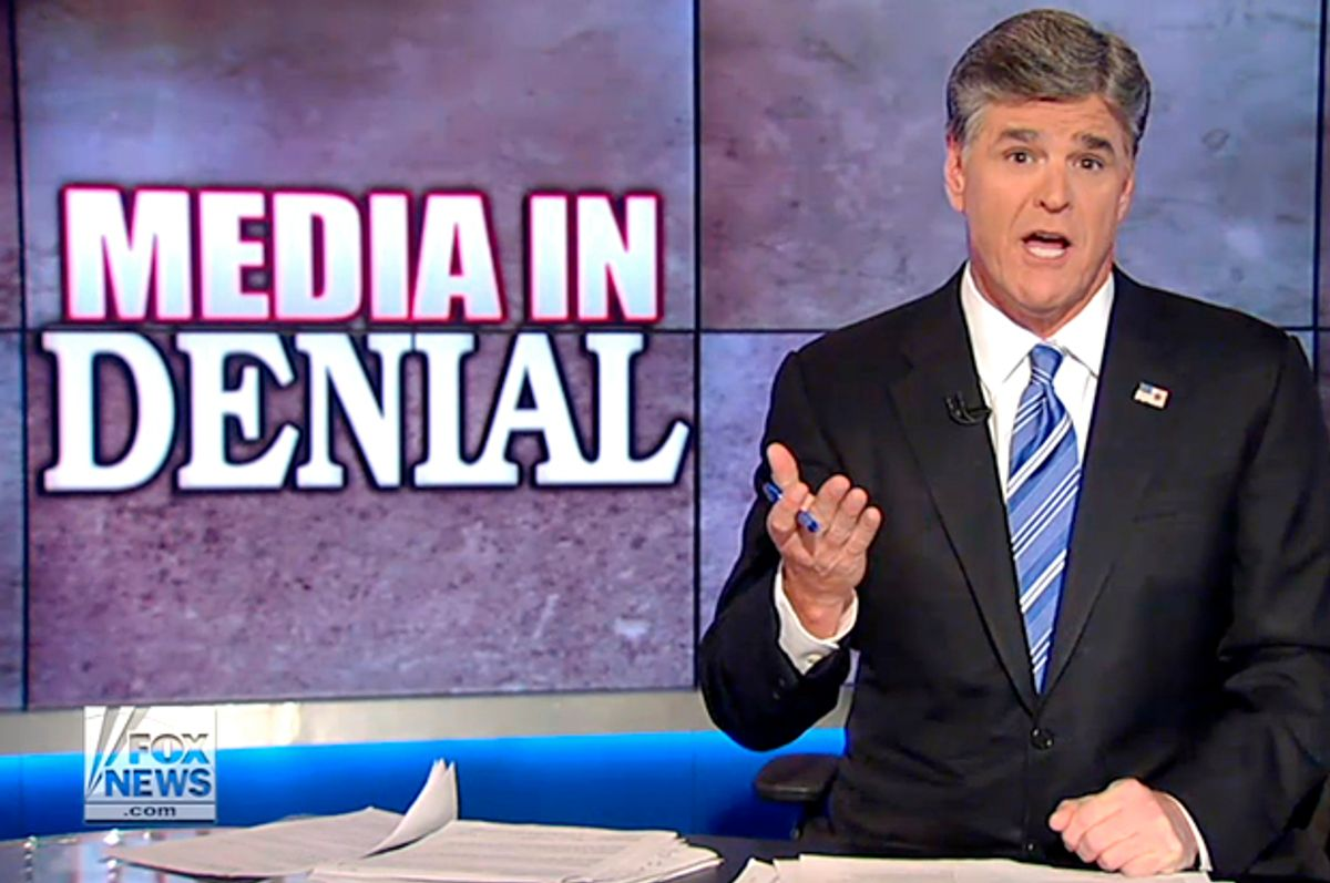 Sean Hannity       (Fox News)