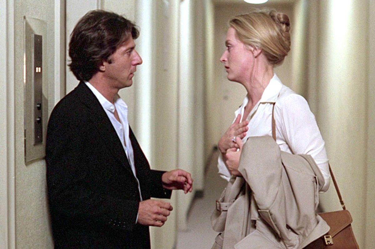 "Dustin Hoffman and Meryl Streep in ""Kramer vs. Kramer""        (Columbia Pictures)"