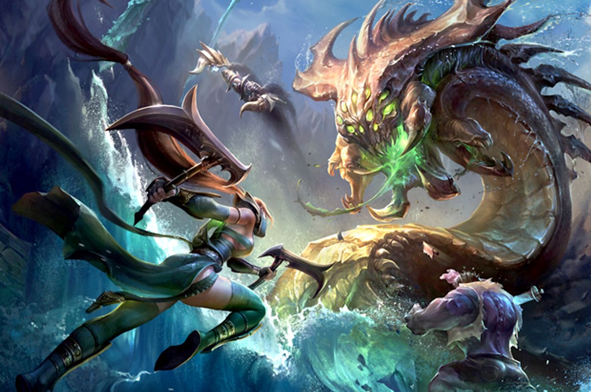 "Promotional image for ""League of Legends""      (Riot Games, Inc.)"