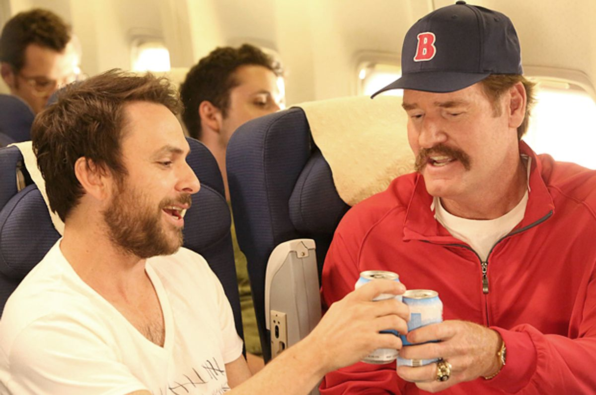 """Charlie Day and Wade Boggs in """"It's Always Sunny in Philadelphia""""      (FX)"""