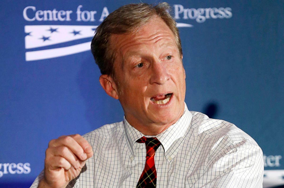 Tom Steyer          (Reuters/Gary Cameron)