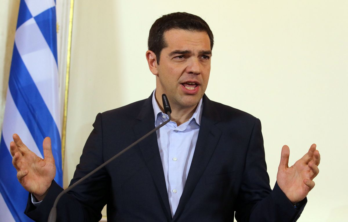 Greek Prime Minister Alexis Tsipras   (AP/Ronald Zak)