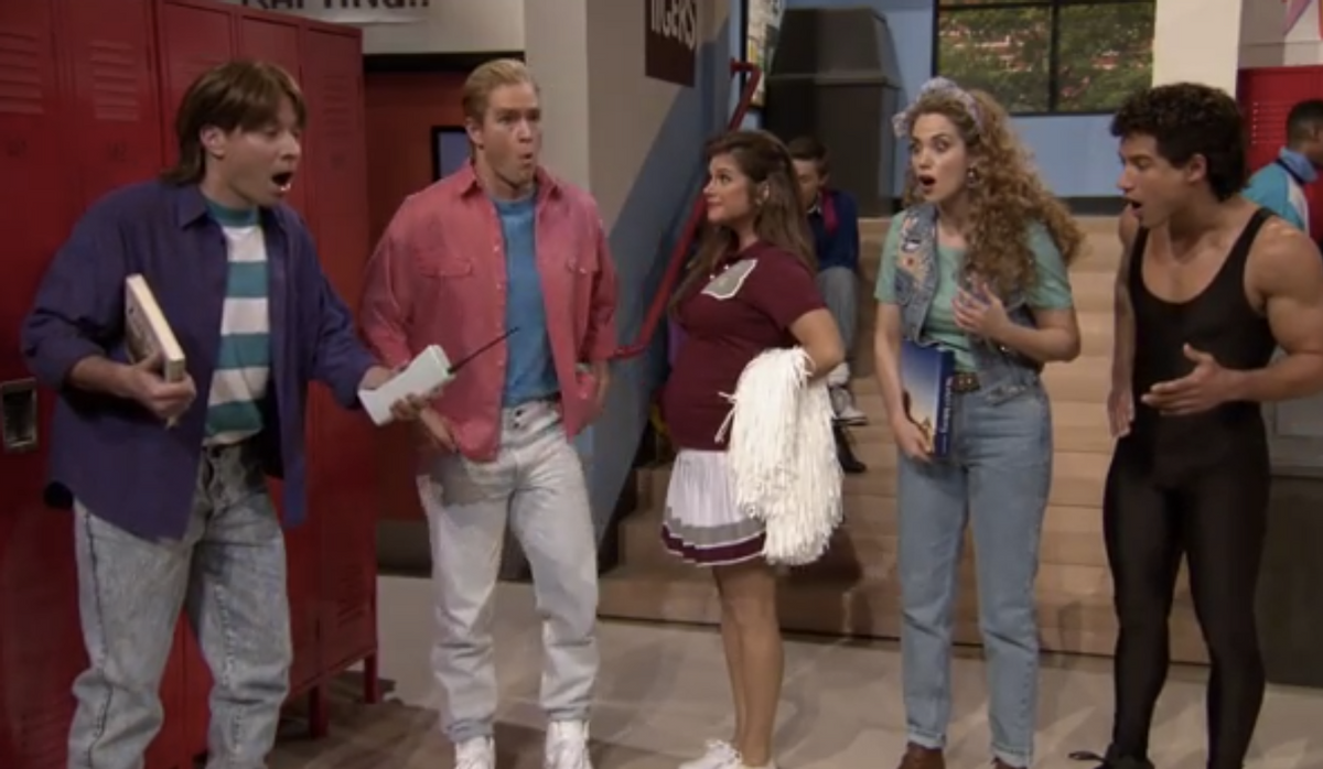 """""""Saved by the Bell"""" reunion on """"The Tonight Show""""    (NBC)"""