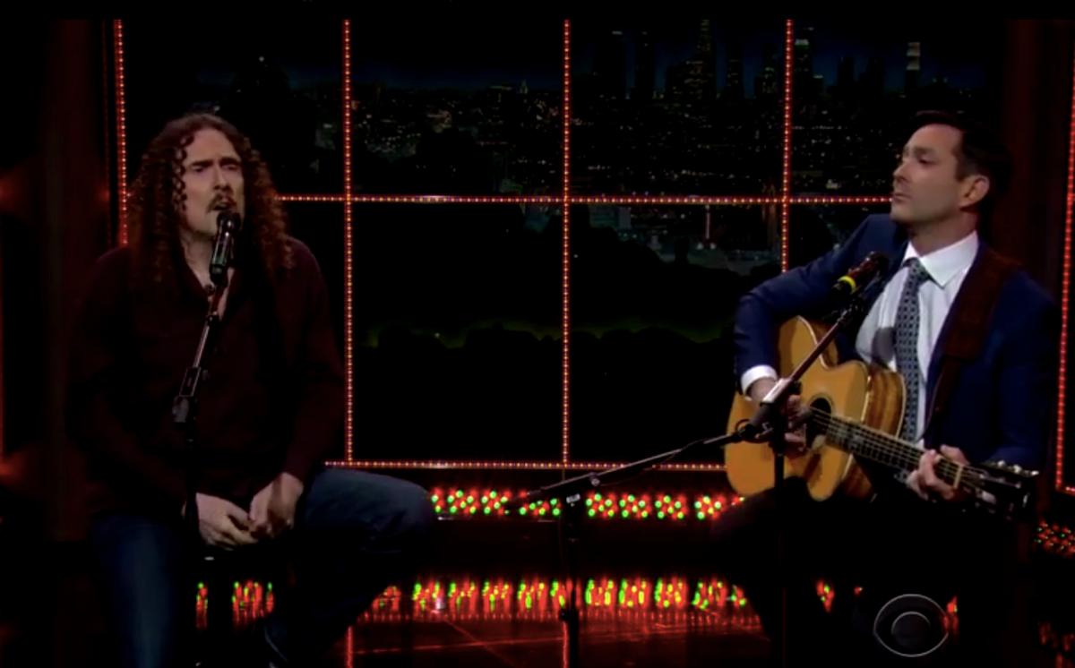 """Weird Al on """"The Late Late Show""""  (CBS)"""