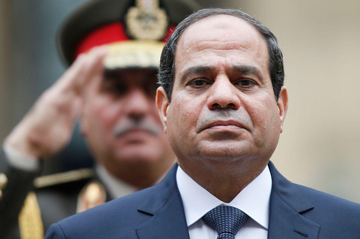 Abdel-Fattah el-Sissi      (AP/Charles Platiau)