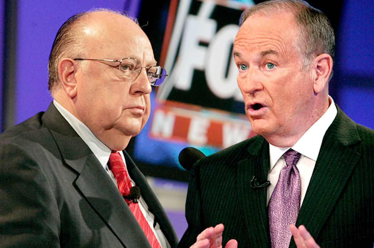 Roger Ailes, Bill O'Reilly         (Reuters/Fred Prouser/AP/Kathy Willens/Photo montage by Salon)