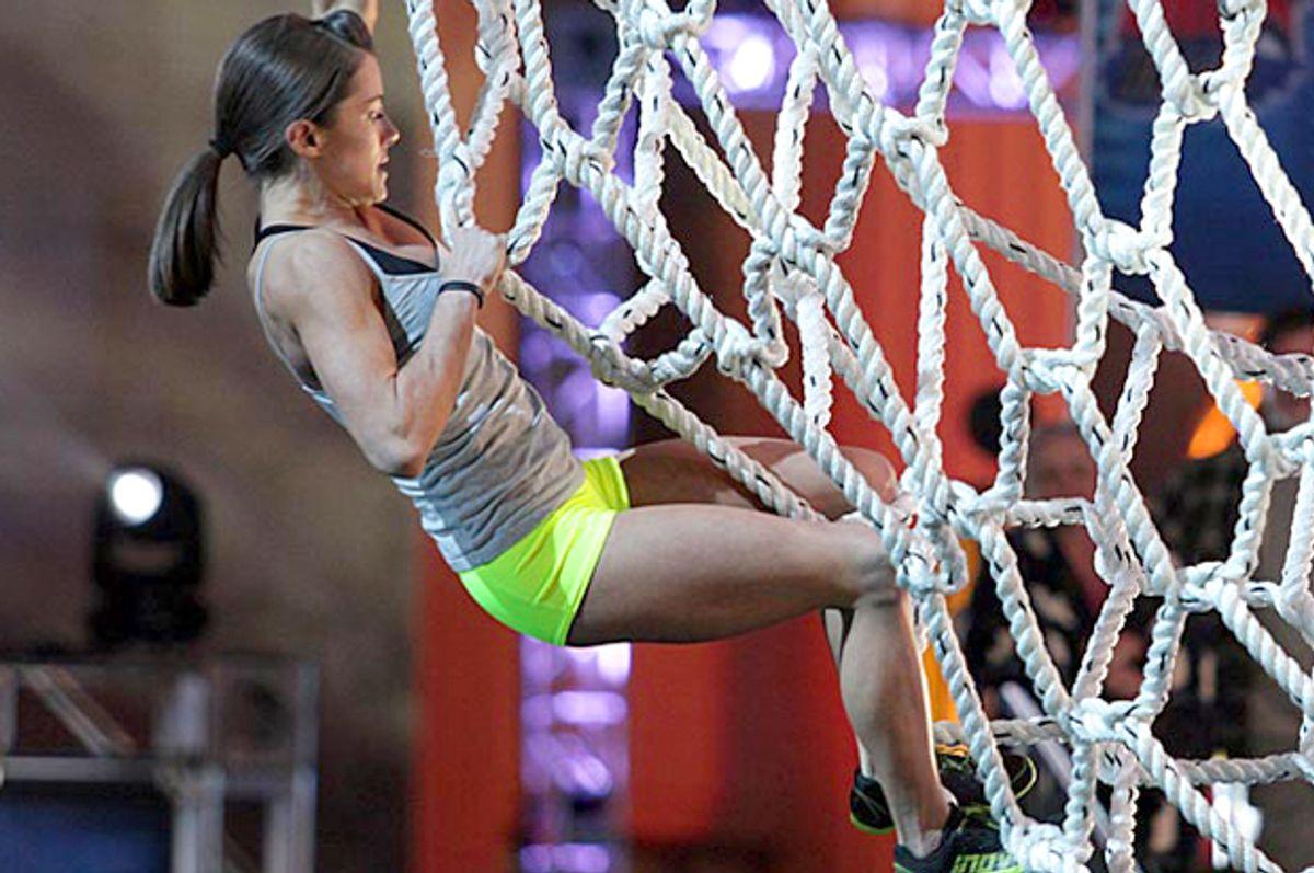"Kacy Catanzaro competes on ""American Ninja Warrior""          (Esquire Network)"