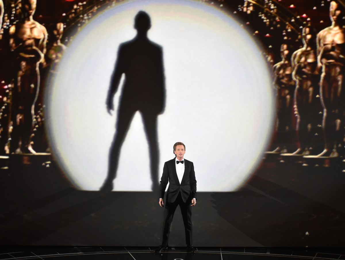 Host Neil Patrick Harris performs at the Oscars on Sunday, Feb. 22, 2015, at the Dolby Theatre in Los Angeles. (Photo by John Shearer/Invision/AP)  (John Shearer/invision/ap)