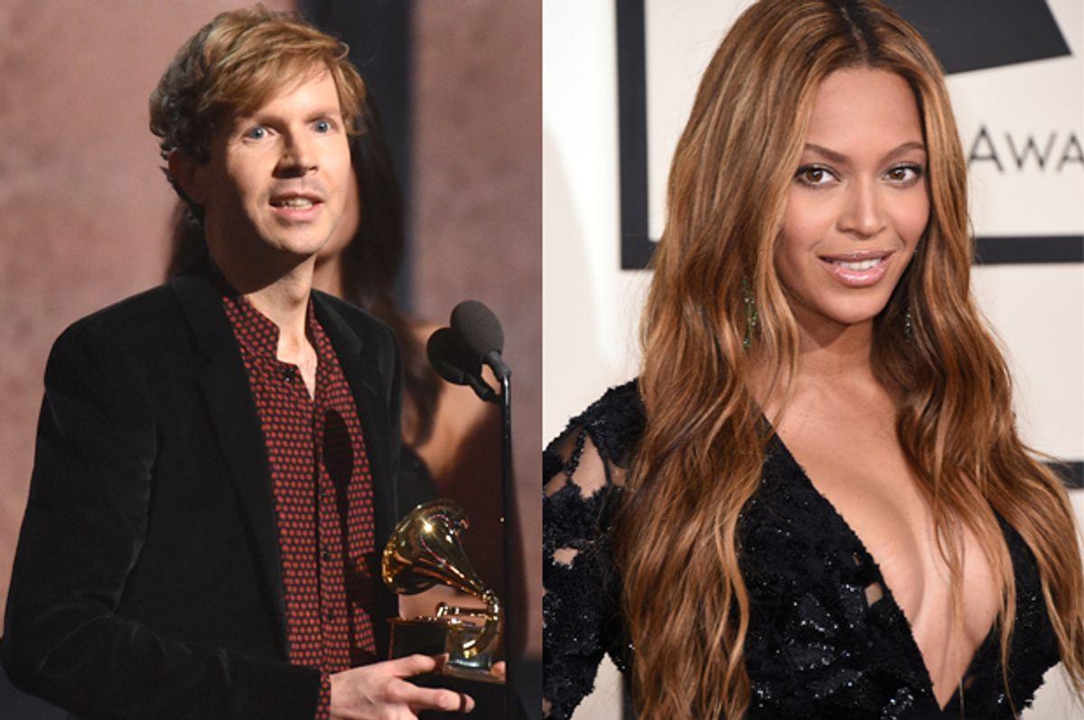 Beck, Beyonce            (AP/John Shearer/Jordan Strauss)